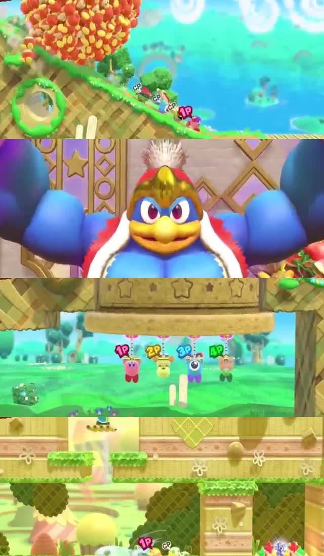 50 UPCOMING NINTENDO SWITCH GAMES OF 2018 29. Kirby Star Allies