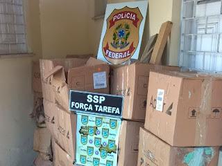 Duas toneladas de maconha são achadas em caminhão com repolho