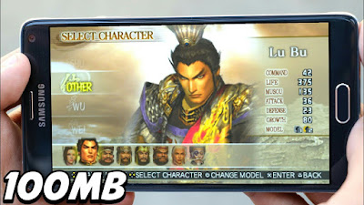 Dynasty Warriors Vol. 2 PSP ISO Download for Android