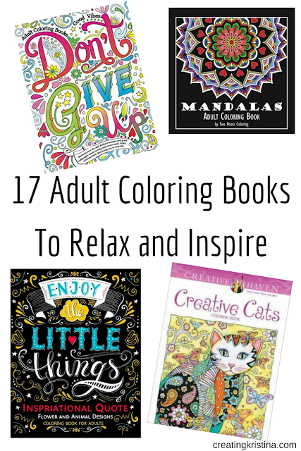 17 Adult Coloring Books To Relax and Inspire