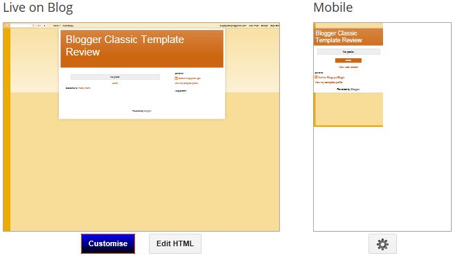 The downside of classic blogger template blogger begins default minimalist blogger template pronofoot35fo Image collections