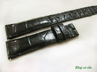 dây đồng hồ da cá sấu 26