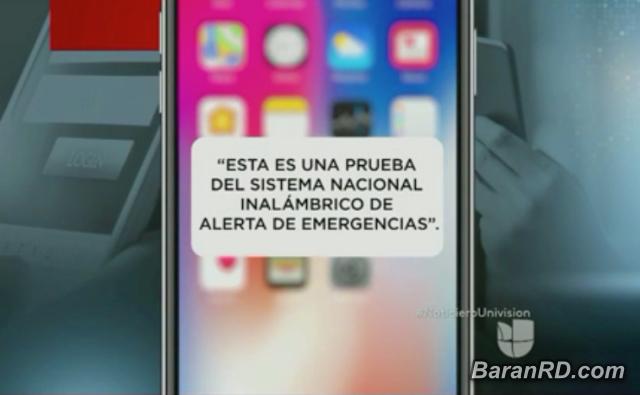 Hoy sonarán los celulares en prueba de alerta sin precedentes en USA