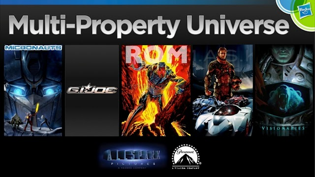 Hasbro Teases First Image Of Multi-Property Universe Project