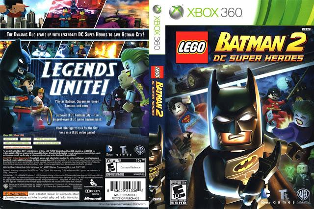 Capa Lego Batman 2: DC Super Heroes Xbox 360