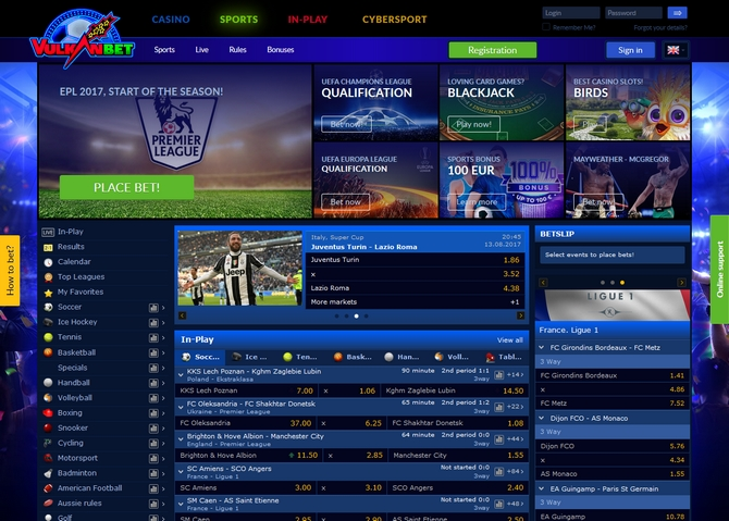 Vulkanbet Screen