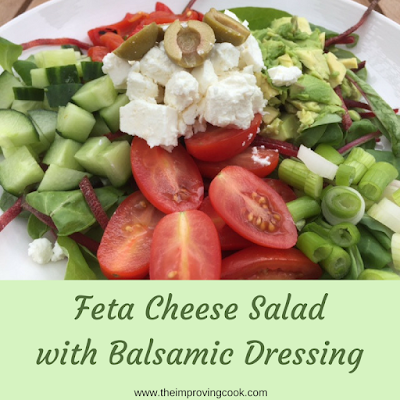 The Improving Cook- Feta Cheese Salad