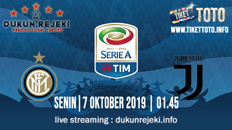Prediksi Skor Pertandingan Inter Vs Juventus 7 Oktober 2019