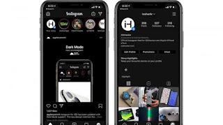 Cara Mengaktifkan Dark Mode Pada Instagram