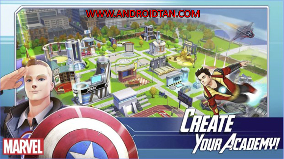Download MARVEL Avengers Academy Mod Apk v2.14.0 Unlimited Money Free Store Android Terbaru