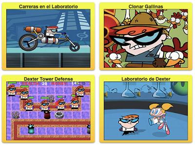 los mejores juegos gratis de las aventuras del laboratorio de dexter completamente gratis