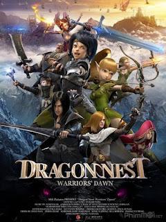 Long Chi Cốc: Hắc Long Đe Dọa - Dragon Nest: Warriors' Dawn (2014) | Full HD VietSub Thuyết Minh