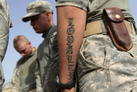 Τατουάζ στις Ένοπλες Δυνάμεις - Τι ισχύει