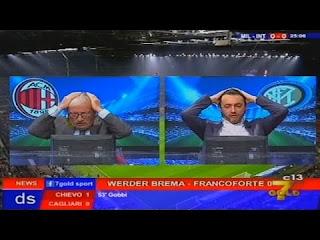 Milan Inter 2-2: Crudeli contro Tramontana Direttastadio