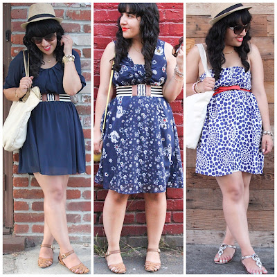 Blue Dresses SF Style Blogger Will Bake for Shoes
