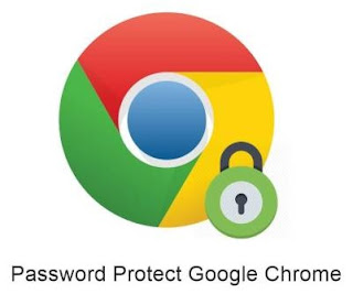 mempasword browser chrome di komputer