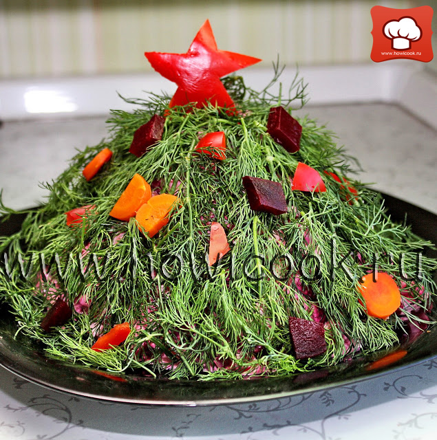 рецепт вкусного новогоднего салата