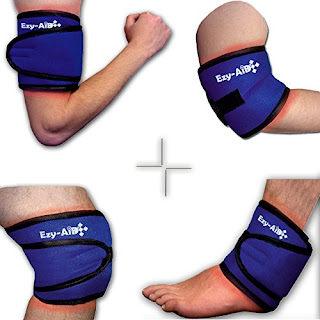 Special Price £4.49 FREE UK delivery – Ezy Compress Wrap For Ankle / Elbow / Knee / Arm
