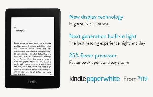 Nowy Kindle Paperwhite - zmiany bez rewolucji