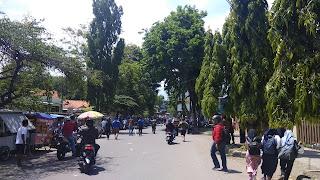 Ratusan Pelajar Tawuran Di Jalan Perjuangan Kota Cirebon