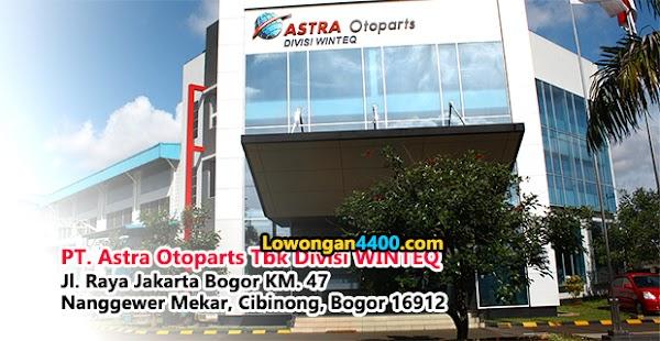 Lowongan Kerja PT. Astra Otoparts Tbk Divisi WINTEQ Tahun 2020