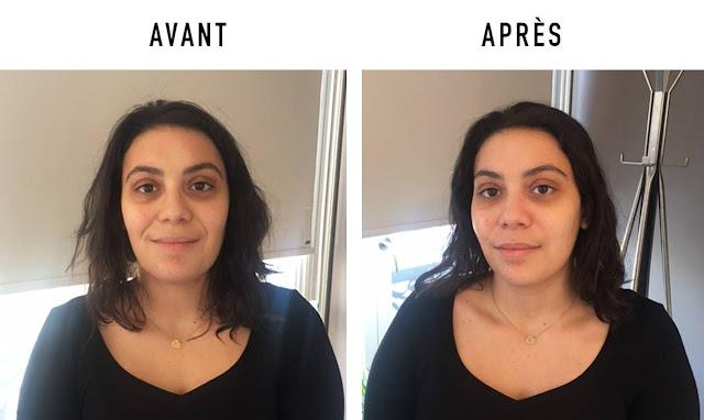 photo méthode claret coquet avant après