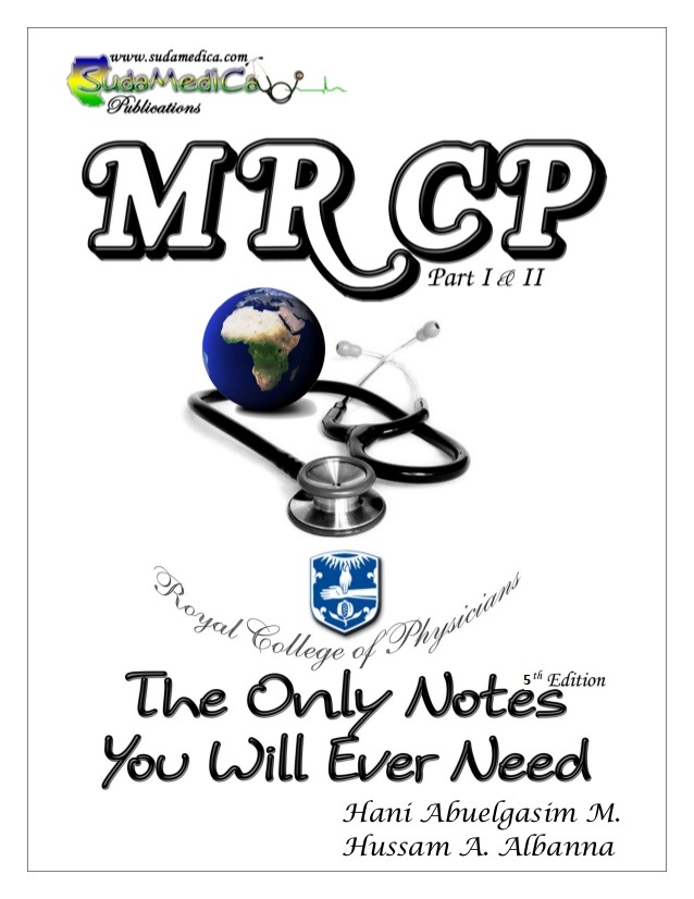 The online medicals mrcp the only mrcp notes you will ever need 5th edition fandeluxe Gallery