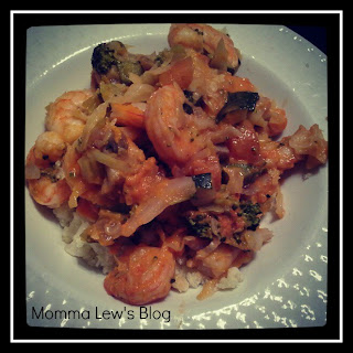 Paleo/Whole30 Shrimp Stir-Fry!