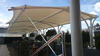 tenda membrane bekasi jasa pembuatan canopy membrane bekasi