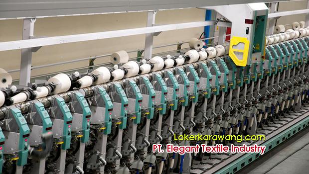Lowongan Kerja PT. Elegant Textile Industry Purwakarta