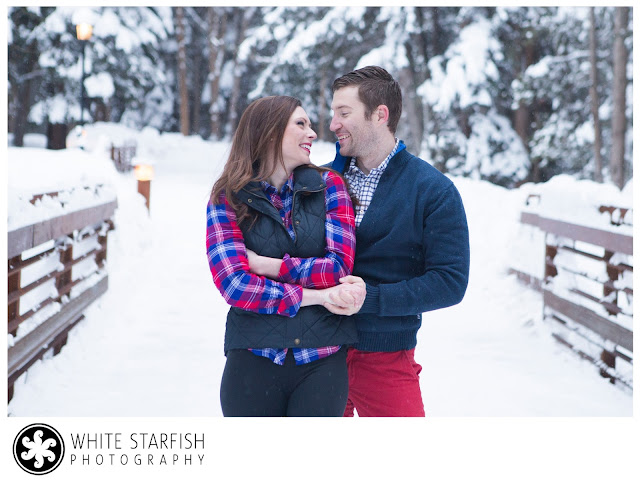 Vail Engagement Photos on Gore Creek