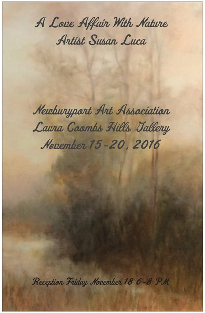Susan b luca fine arts 2016 reception friday night november 18 600 pm to 800 pm guitarist richard luca will entertain stopboris Gallery