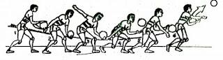 Rangkuman Materi Bola Voli, Sejarah Singkat, Peraturan, Teknik Dasar Serta Ukuran Lapangan Bola Voli Putra dan Putri