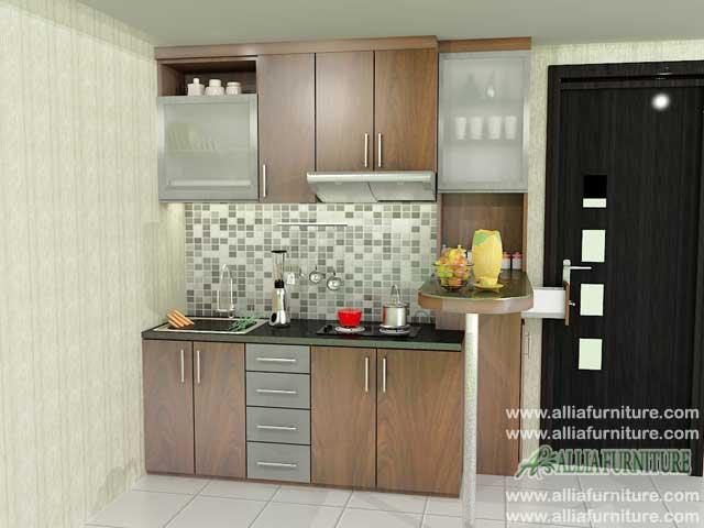 kitchen set minimalis simpel model pines