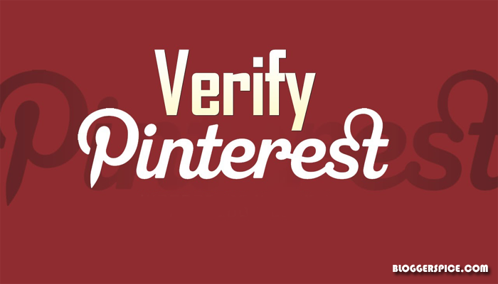 Pinterest site verification