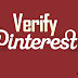 How to Verify Blog and Website on Pinterest?