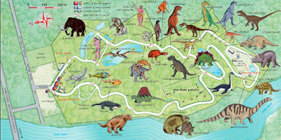 Mappa Parco della Preistoria
