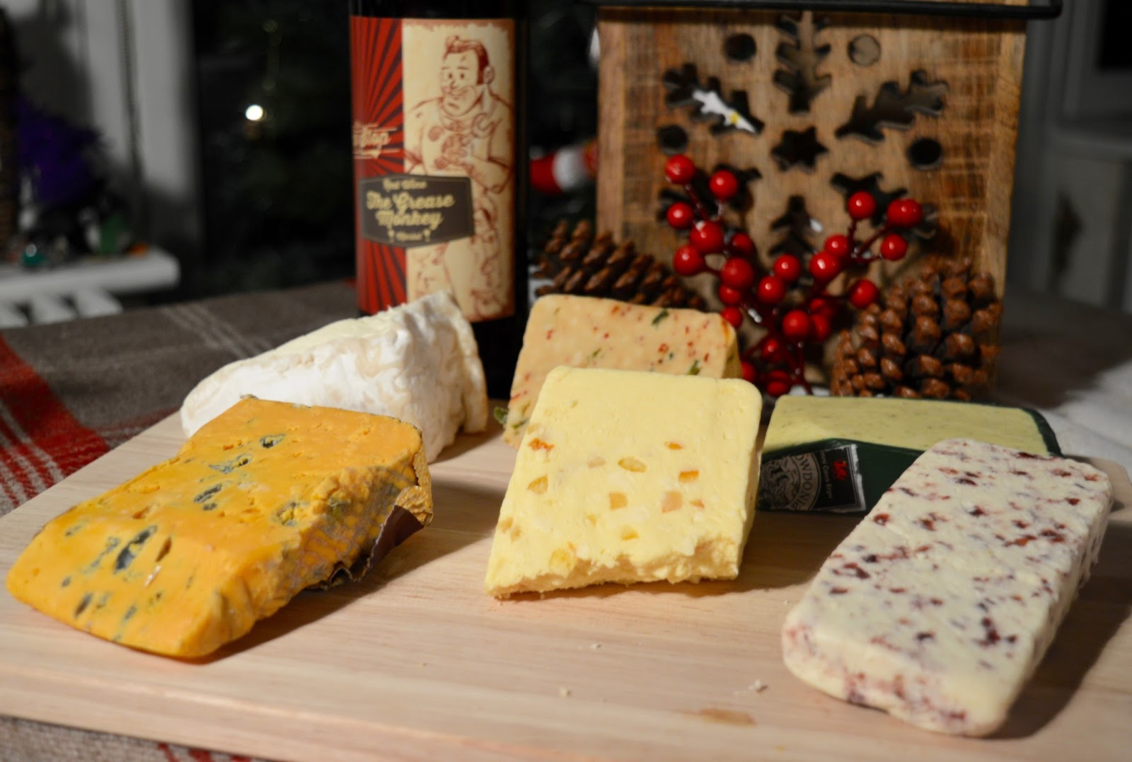 Creating a perfect Cheese Board with Matthew's Cheese Shop | The Grainger Market, Newcastle - cheese selection including Blackstick blue