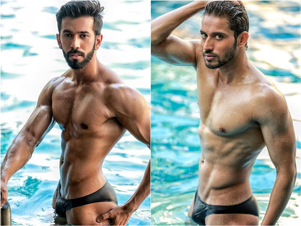Desi Mard Mr India 2016 - Pool Shoot 1-5123