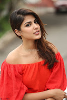 Rhea Chakraborty in Red Crop Top and Denim Shorts Spicy Pics ~  Exclusive 345.JPG