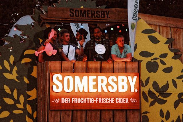 """Was für ein geiles Festival. Somersby, der Cider Spezialist für """"Sonne in der Flasche"""", hat uns zum Parookaville Festival nach Weeze eingeladen."""