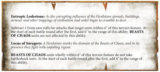 reglas Piedra de la manada hombres bestia