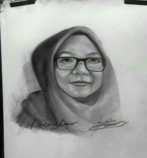 Potrait Daripada Alifwawya Art
