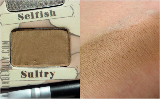 theBalm, Nude'tude, Sultry