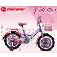 18 pacific valentino ctb sepeda anak