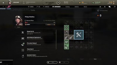 Habilidades en el comandante del tanque armored warfare