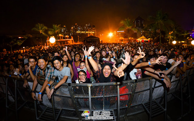 I am happy if the fans are happy =) OneRepublic Native Live in Malaysia 2013