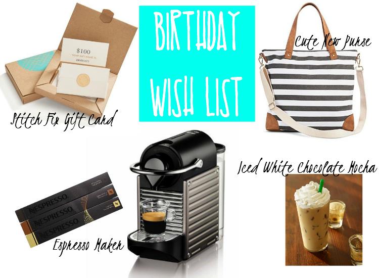 Sweet Turtle Soup - My (30th) Birthday Wish List: Stitch Fix, Nespresso Pixie, Starbucks, Striped Tote