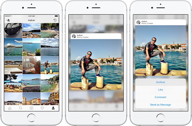 Cara Mengarsipkan Postingan di Instagram  3