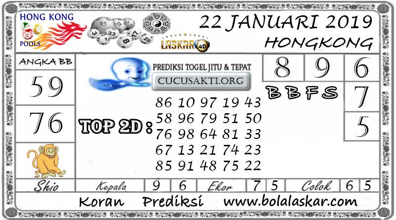 Prediksi Togel HONGKONG LASKAR4D 22 JANUARI 2019